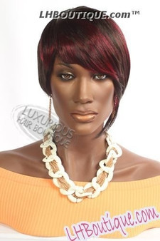 Feel Free Synthetic Hair Wig Ruby Front