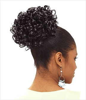 Isis Silver Swan Premium Synthetic Ponytail Curl Set