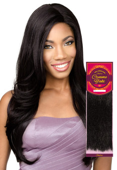 Fashion Source 100% Human Hair Cream Yaky Weave #27 - 10""