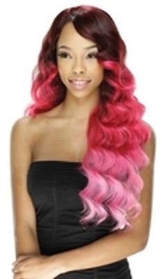 Model Model Invisible Lace Front Wig Love New Ombre Colors!
