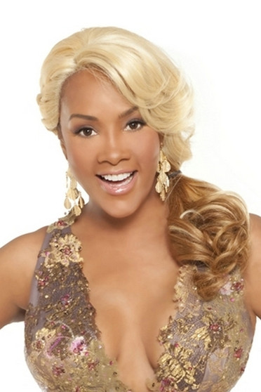 Vivica Fox Synthetic Deep Lace Front Wig Curtis