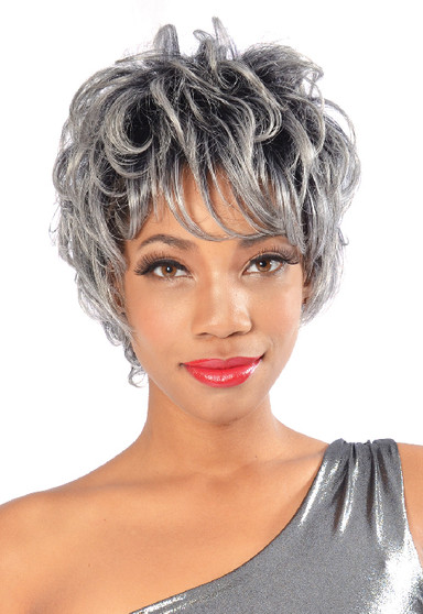 Fashion Source Synthetic Hair Wig Viola