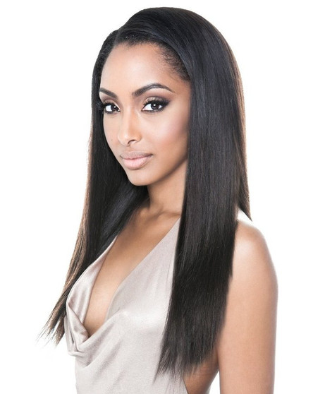Isis Collection Human Hair Caramel Yaki Straight Weave - 14'