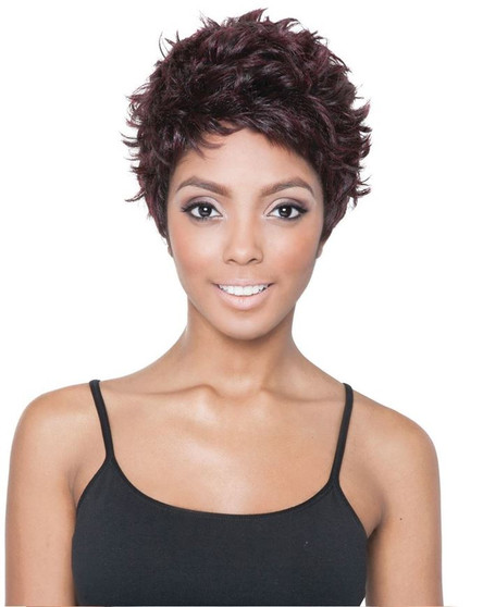 Isis Red Carpet Queen B Synthetic Full Wig Missy Pixie
