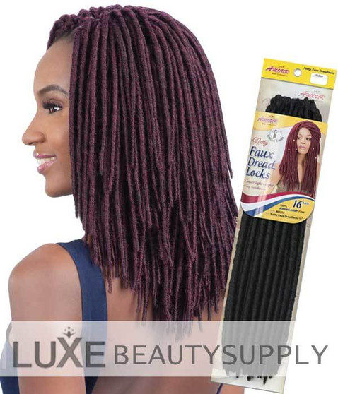 Amour Natty Faux Dreads Hair 16 NFL16