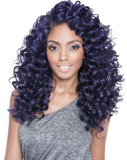 Isis Collection Brazilian Ombre Human Hair Blend Weave PARIS WAVE Front