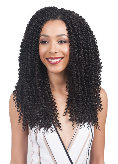 Bobbi Boss 3X Multi-Length Crochet Braid Baby Soft 10/12/14 Front