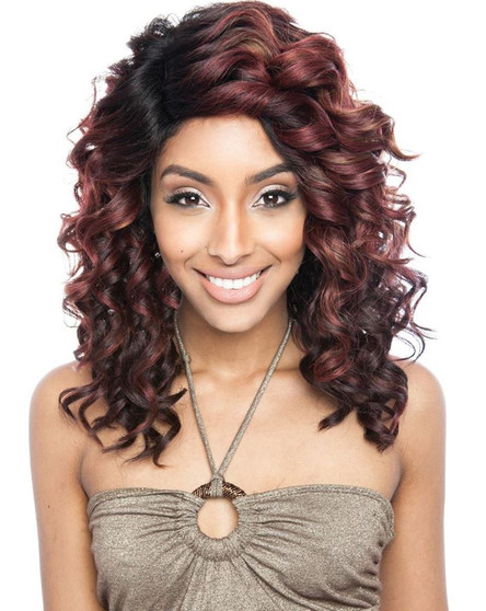 Isis Brown Sugar Human/Synthetic Lace Wig BS 219