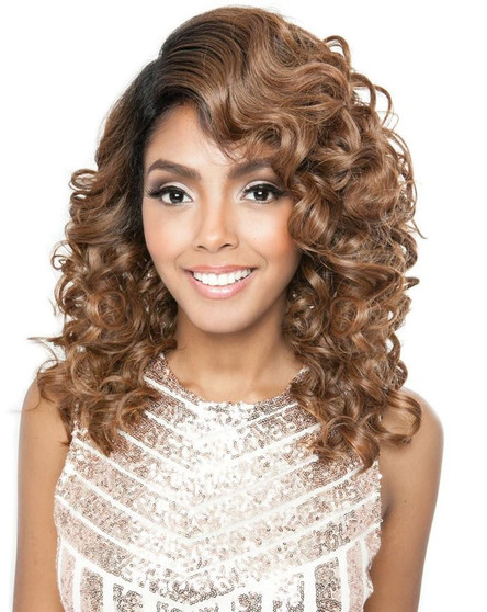Mane Concept Frontal Lace Brown Sugar Lace Font Wig BSF 07