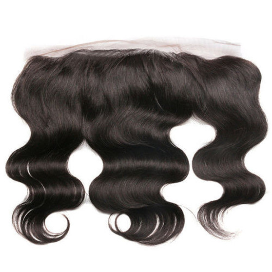 "Brazilian 100% Virgin Body Wave Frontal - 18"" (1 pc )"