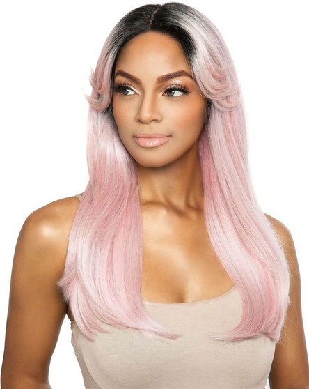 Red Carpet Synthetic Lace Front Wig Ice Cream Girl 02 Bubble Gum (RCIG02) Front