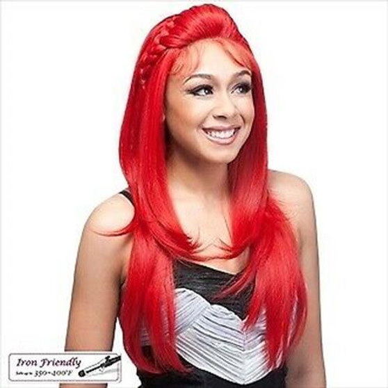 It's A Wig Braided Lace Wig London (Fiery Red)