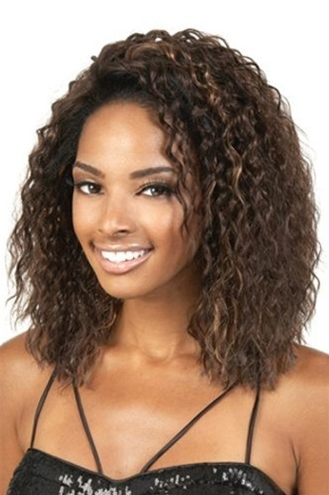 Beshe Lace Front Wig Aida quarter