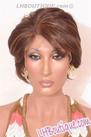 Care Free Hand-Stitched Lace Front Wig - Evan