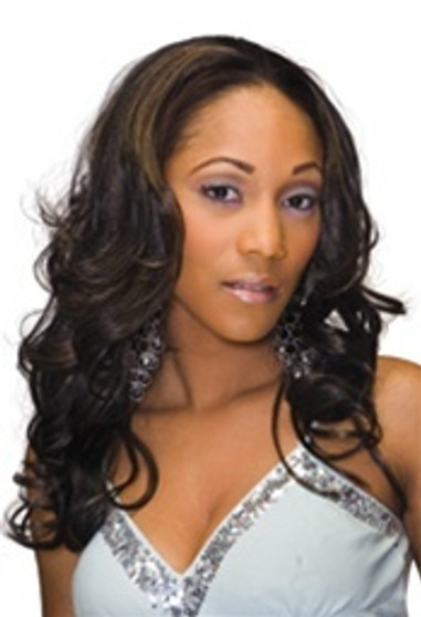 Care Free Synthetic Half Wig - Lady