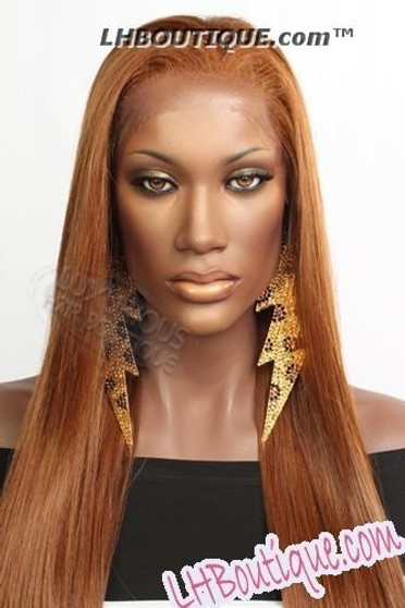 Champagne Futura Synthetic Lace Front Wig Carol