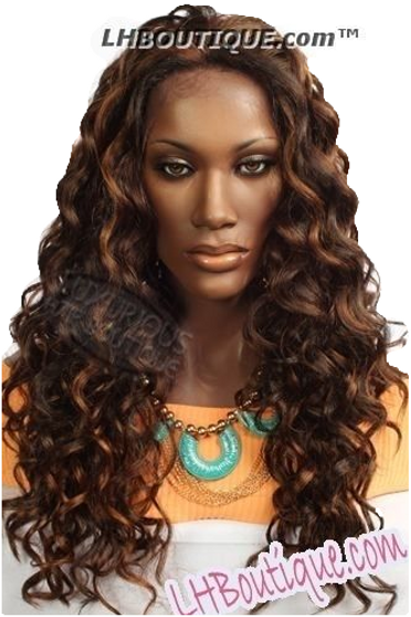 Donna Cambell MonoTop Lace Front Wig - Violet