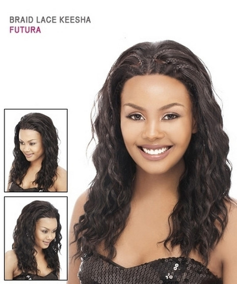 It's A Wig Braided Lace Front Futura Wig - Keesha