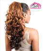 Isis Collection Premium Synthetic Half Wig + Pony Tail TP 30  back