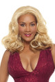 Vivica Fox Synthetic Curly Deep Lace Front Wig - Tilly front