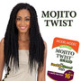 Model Model Mojito Twist Bulk Braiding Hair 16 with Packaging