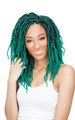 Urban Beauty Crochet Naturall Goddess Faux Locs Green