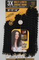 Bobbi Boss 3X Multi-Length Crochet Braid Baby Soft 10/12/14 Packaging