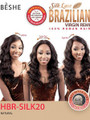 Beshe Brazilian Virgin Remy Lace Front Wig HBR Silk 20