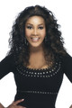 Vivica Fox 100% Human Hair Lace Front Wig - Queenie