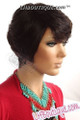 Donna Cambell Human Hair Wig  Anita Side