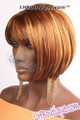 Feel Free Synthetic Hair Wig - Coca  side