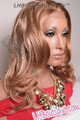 Feel Free Synthetic Lace Front Wig Model Side 1