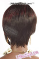 Feel Free Synthetic Hair Wig Ruby Back