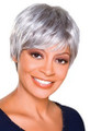Foxy Silver Monofilament Synthetic Wig Trudy