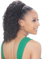 Model Model Synthetic Half Wig Pony Tail SuperTini Back