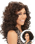 best synthetic weaving hair deep spiral curly weave