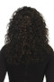 Vivica Fox 100% Human Hair Lace Front Wig - Queenie back