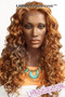 Donna Cambell MonoTop Lace Front Wig Violet Front