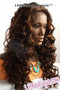 Donna Cambell MonoTop Lace Front Wig Violet Side