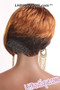 Feel Free Synthetic Hair Wig - Coca back