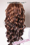 Feel Free Synthetic Hair Wig - Filly back