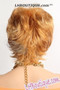 Feel Free Synthetic Hair Wig - Miracle back