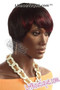 Feel Free Synthetic Hair Wig Ruby Side