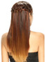 Model Model Braided Lace Front Wig Besta Back