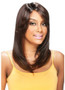 Model Model Deep Invisible Part Lace Front Wig Latte