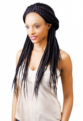Hair Tips Magic Braided Lace Front Wig Luxe Beauty Supply
