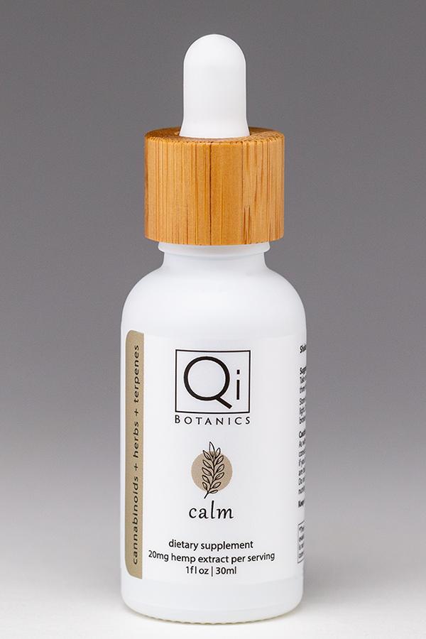 qib calm tincture 30ml 600mg hemp extract