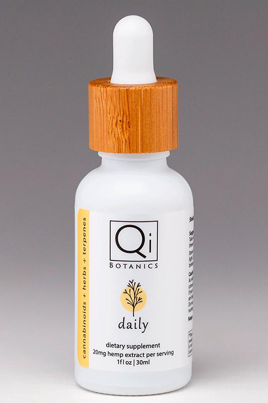 qib daily tincture 30ml 600mg hemp extract