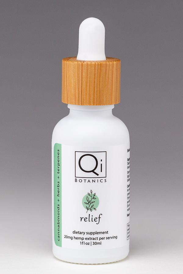 qib relief tincture 30ml 600mg hemp extract