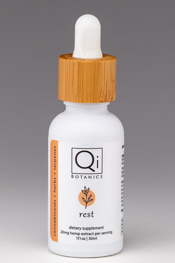 Qi Botanics Rest tincture 30ml 600mg hemp extract